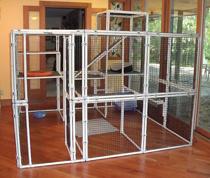 Portable Deck Enclosures : Catsondeck pet safety enclosures